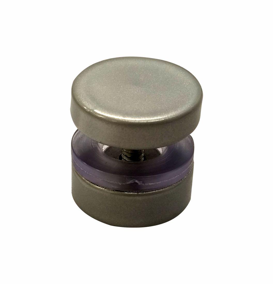 """Puxador Para Janela 1"""" Permite Transpasse - 1651-E - Puxadores de alumínio"""