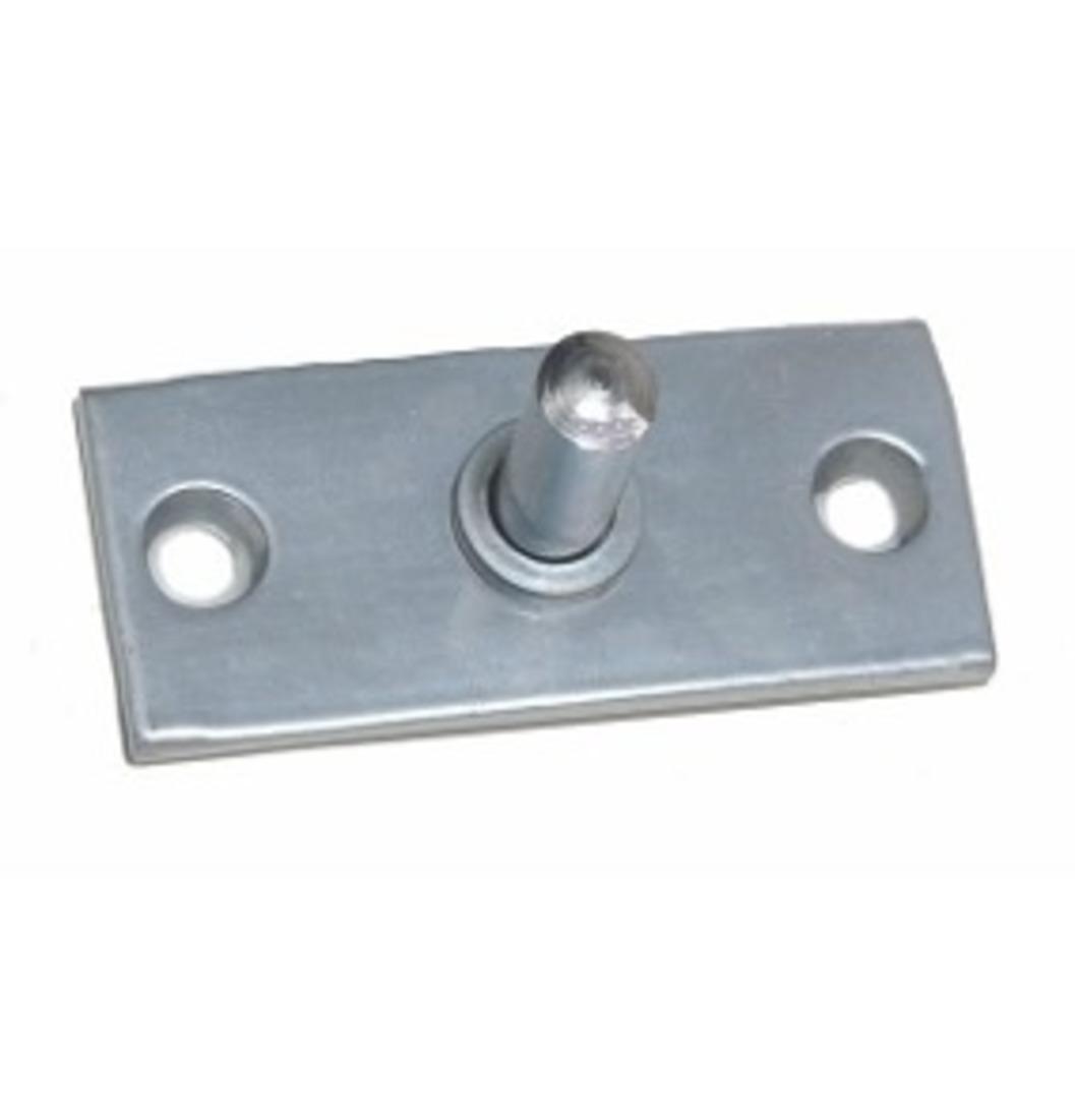 Pivô Inferior Inox Para Dobradiça 1102 - 1014 - Acessórios