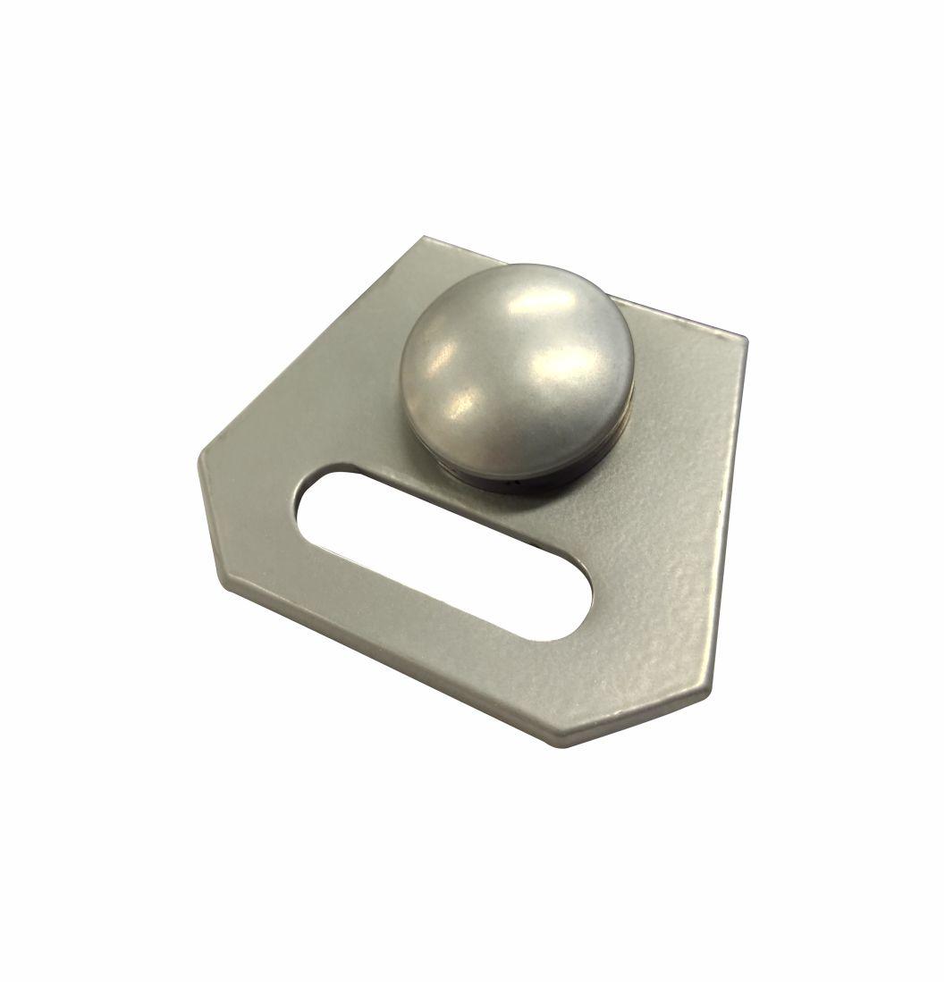 Mini Puxador Para Transpasse de Portas e Janelas - 1671-M - Puxadores de alumínio