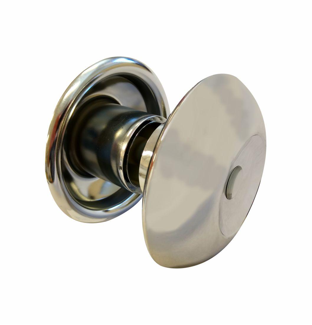 Puxador Polímero Metalizado - 1609 - Puxadores de alumínio
